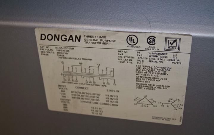 Dongan Multitap Transformer